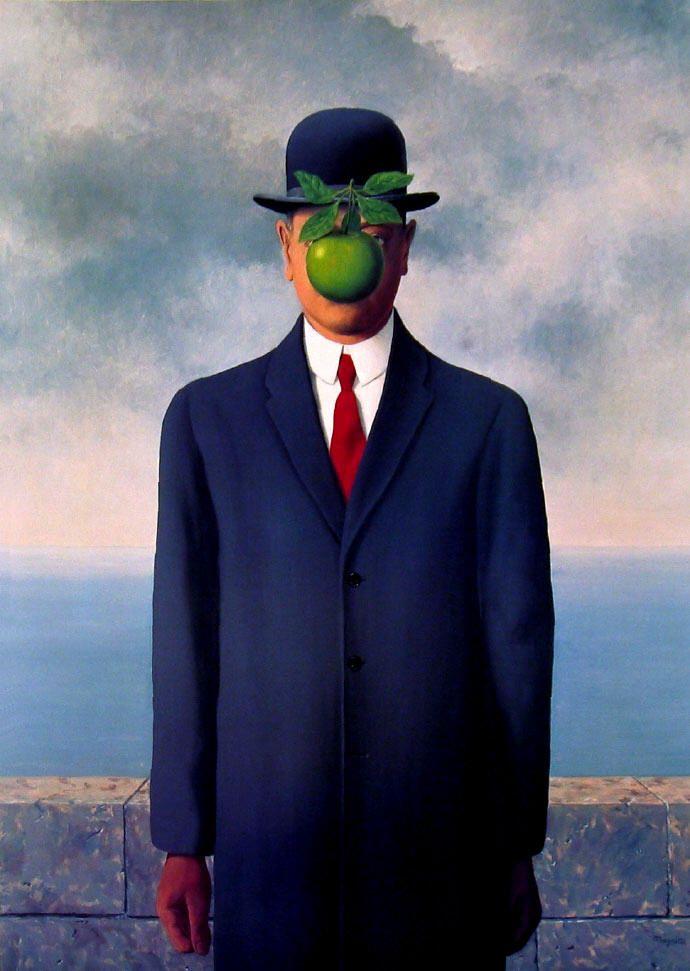 Renè Magritte - Figlio dell'uomo 1964, private collection