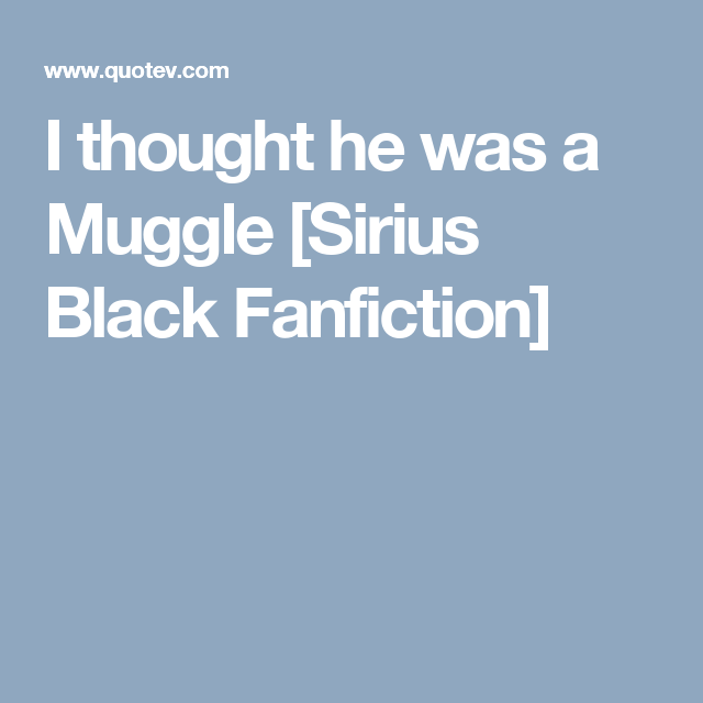 Harry Potter Falls In Love With A Muggle Fanfiction