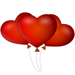 Heart Shaped Balloon Transparent Image In 2020 Heart Shapes Free Clip Art Balloons