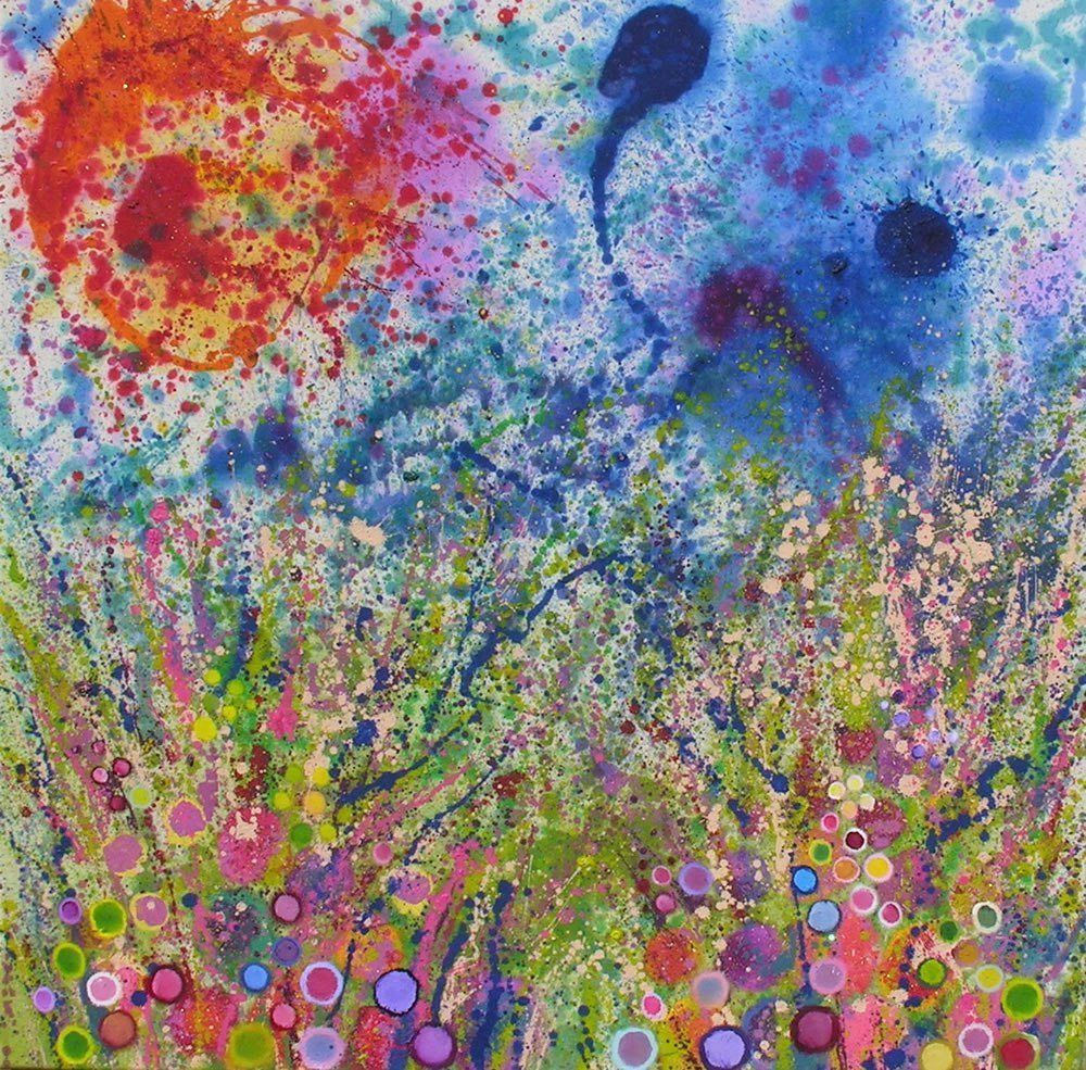 4e576093ba5 Blooms  Flower Paintings   Flower Art by. Contemporary Art For SaleModern  ...