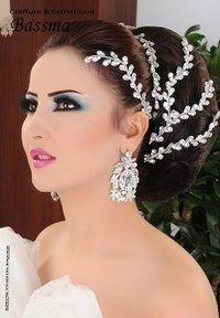 Maquillage libanais oriental pour un mariage (avec images) | Maquillage libanais, Coiffure ...