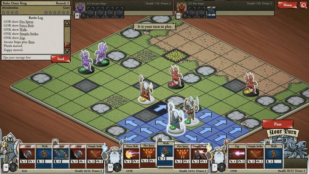 Odin Quest from Playsnail which is a RPG Webgame with the