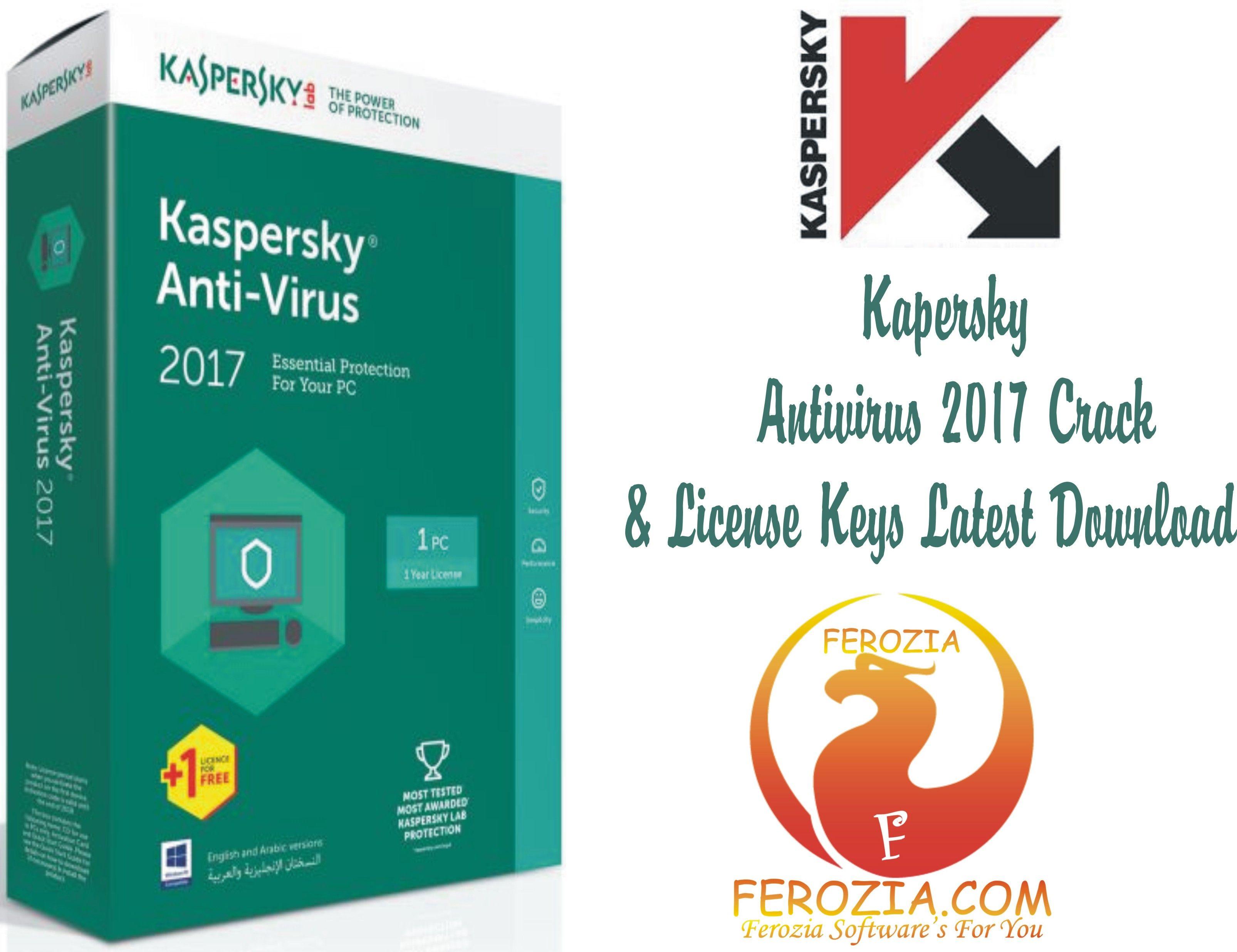 Kaspersky antivirus crack 2017 free download   Kaspersky