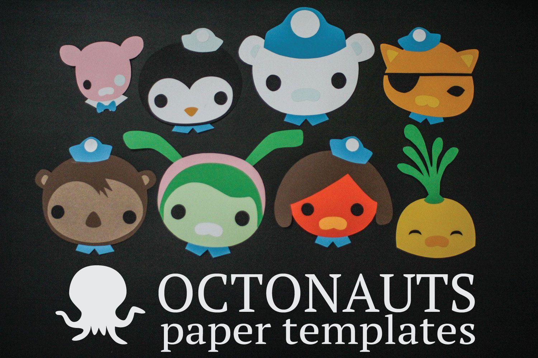 Octonauts Characters Paper Templates Octonauts Birthday