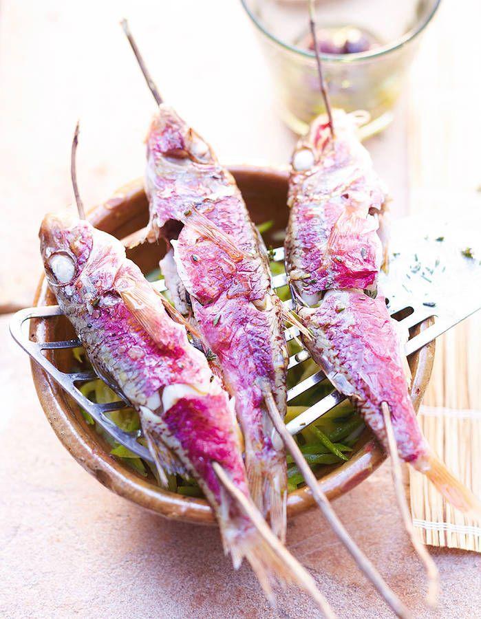 Rougets et courgettes a la vapeur de fenouil other fish for Mandolin mediterranean kitchen