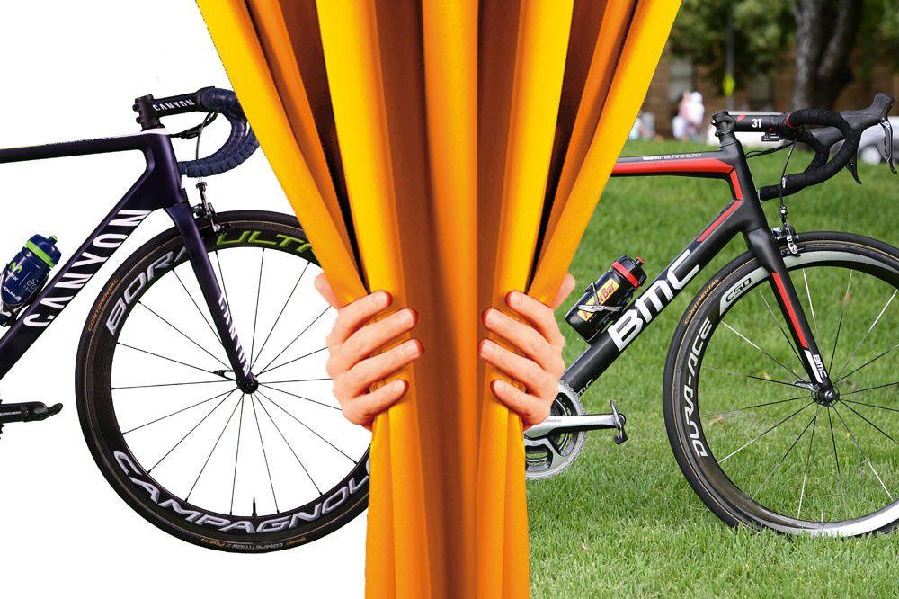 Duel 2016 - © Vélo 101   Toute reproduction, même partielle, sans autorisation, est strictement interdite. Une nouvelle phase du tournoi commence aujourd'hui avec le début pour huit jours des huitièmes de finale. Premier choc : Look 795 VS Scott Addict. Une...