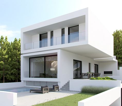 Cool house designs modern design bauhaus box houses elevation also pin by paris  on contemporary in rh pinterest
