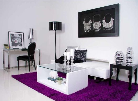 Purple Swanky Decor Pinterest Purple And Interiors