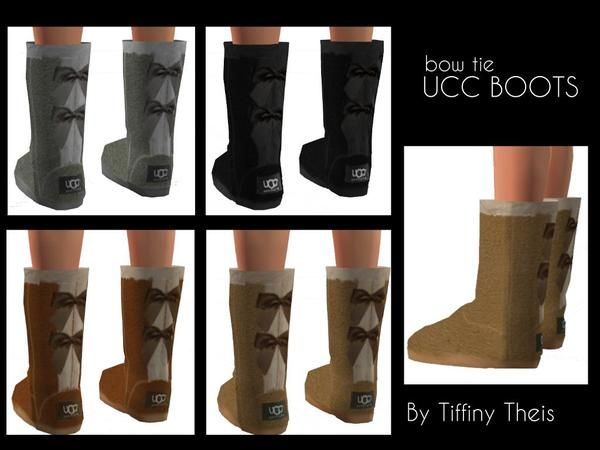 sims 4 cc // custom content shoes ugg