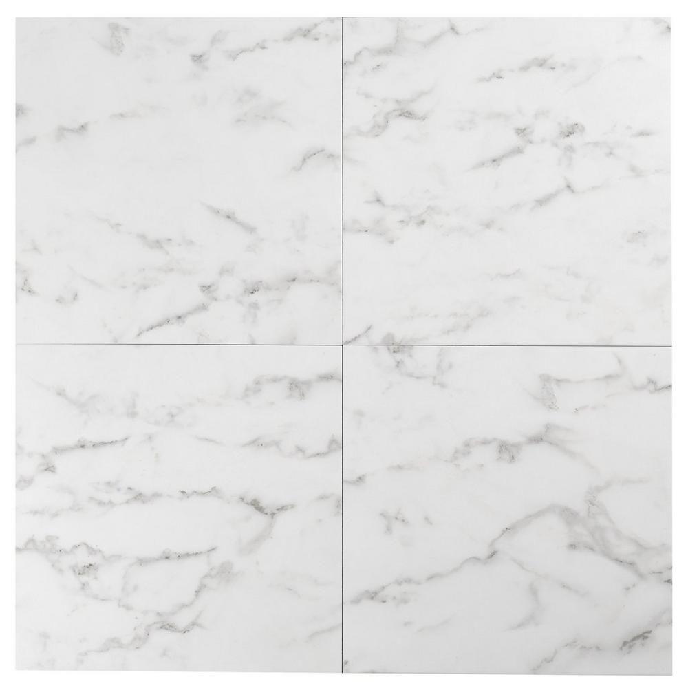 Carrara White High Gloss Ceramic Tile Ceramic Tiles Tiles