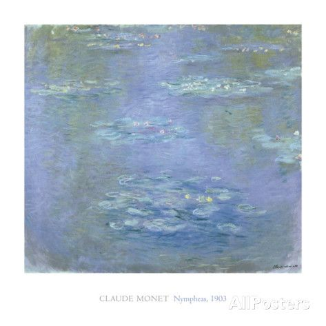 Nympheas, 1903 Print by Claude Monet at AllPosters.com