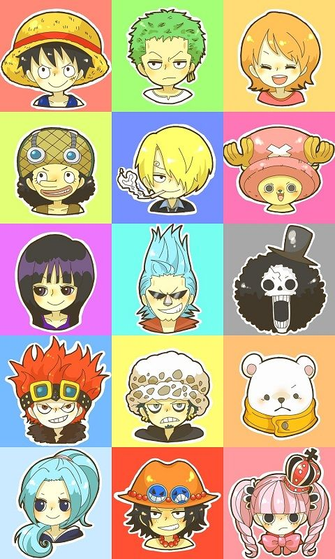 ONE PIECE with Luffy Sanji Nami anime Pin