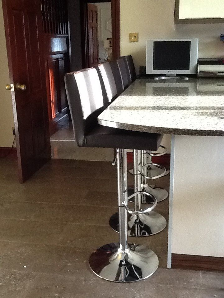 Another Happy Customer With X4 Brown Persian Bar Stools. Available At Lakeland  Furniture For Only