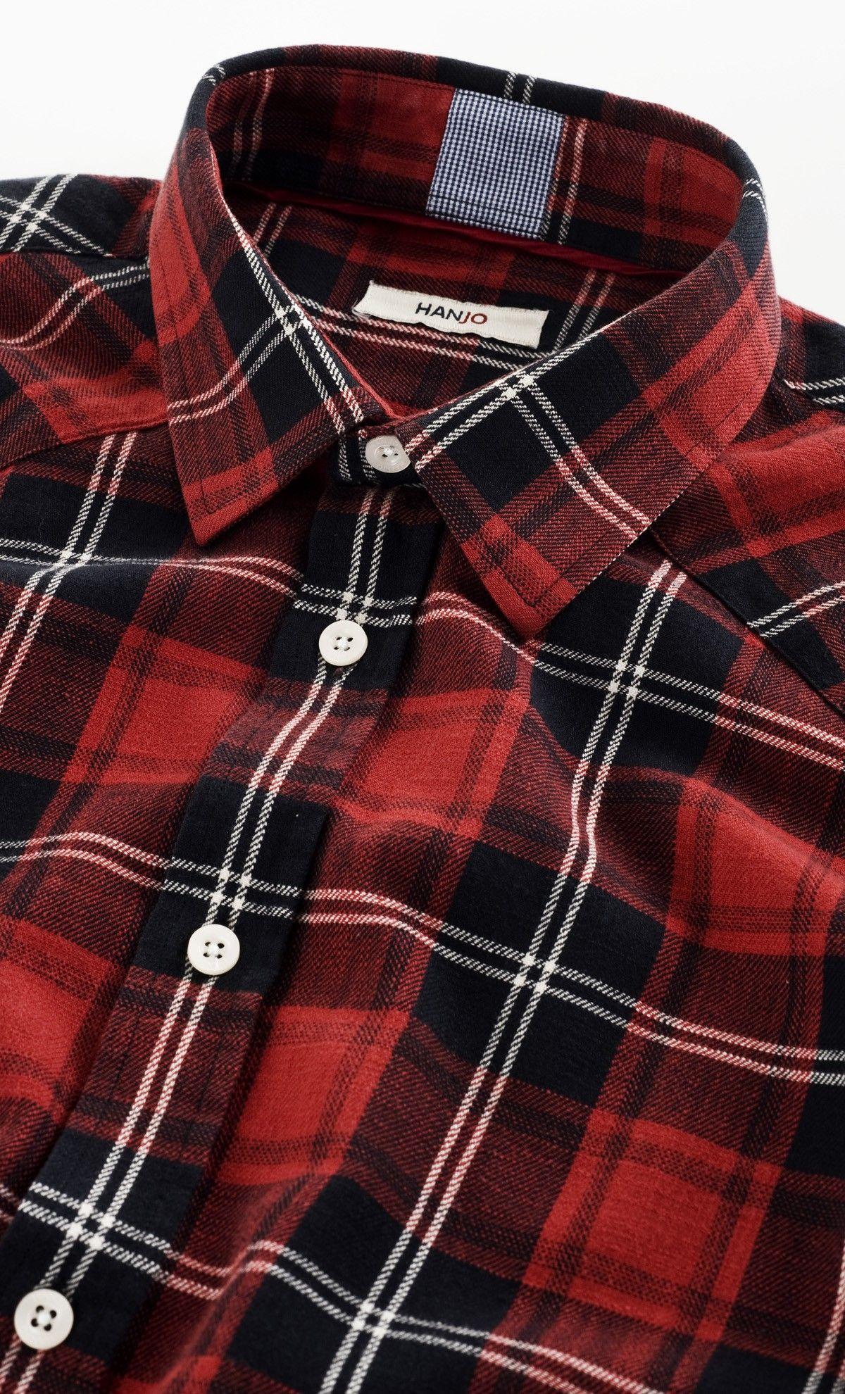 80245f443395 Chemise Carreaux Rouge Noir Tartan Ecossais Mode Homme à motif. Syle   Look  Décontracté.
