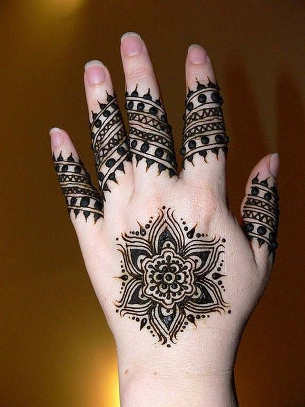 Mehndi Designs For Hands Step By Step Usually Young Girl And Women