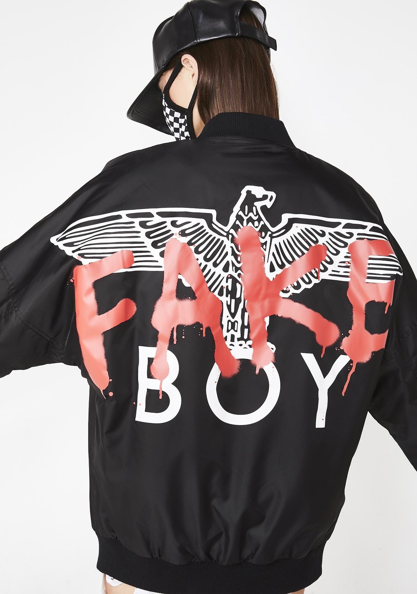 Boy London Boy Fake Drop Shoulder Jacket Dolls Kill Boy London Warriors Jacket Streetwear Fashion [ 2000 x 1405 Pixel ]