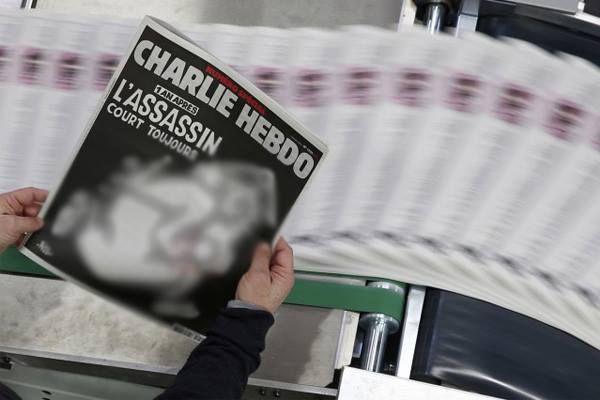 مليون نسخة ورسم للذات الإلهية في عدد تذكاري لاعتداء #شارلي_إيبدو tanja7.com/news-9153