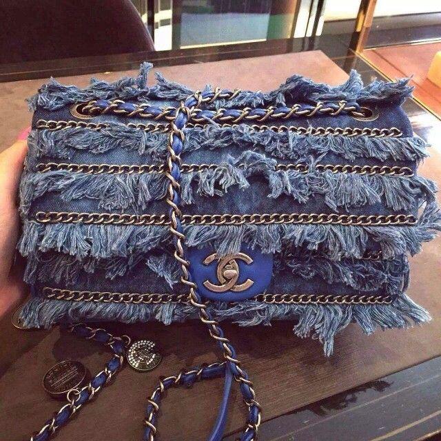 Bolsa chanel 2.55 jeans replica 7a