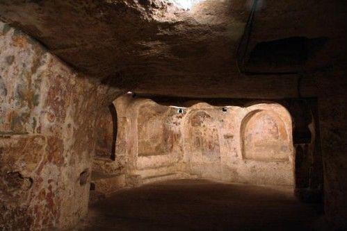 655f1 Massafra, église hypogée Saint Antoine abbé (10e-1