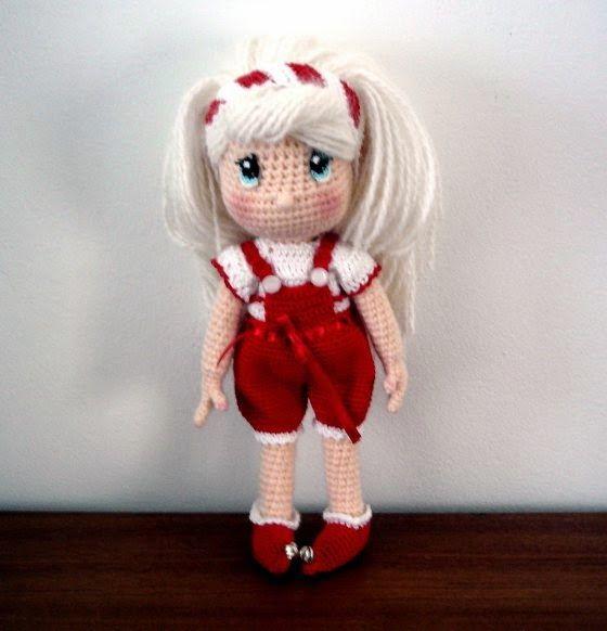 candy-dolls-amigurumi | amigurumis | Pinterest | Muñecas, Muñeca ...