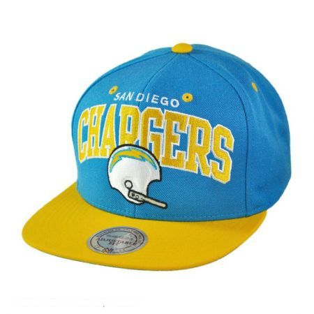 San Diego Chargers NFL Helmet Snapback Baseball Cap available at   VillageHatShop 420316e17d9