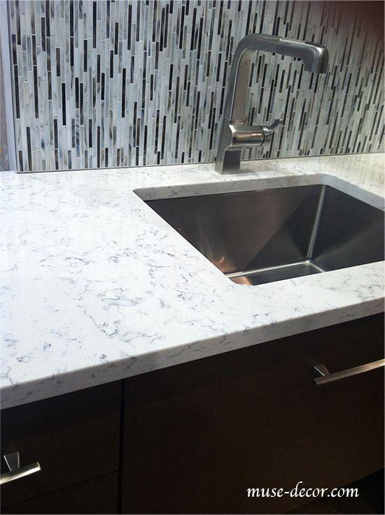 Lyra quartz countertops by silestone quartz counter tops - Silestone showroom ...