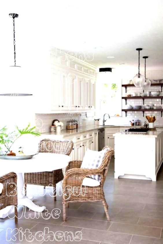 Beautiful White Kitchens  Studio 52 Interiors  beautiful100 Beautiful White Kitchens  Studio 52 Interiors  beautiful Distressed look salvaged and whitewashed wood soft an...