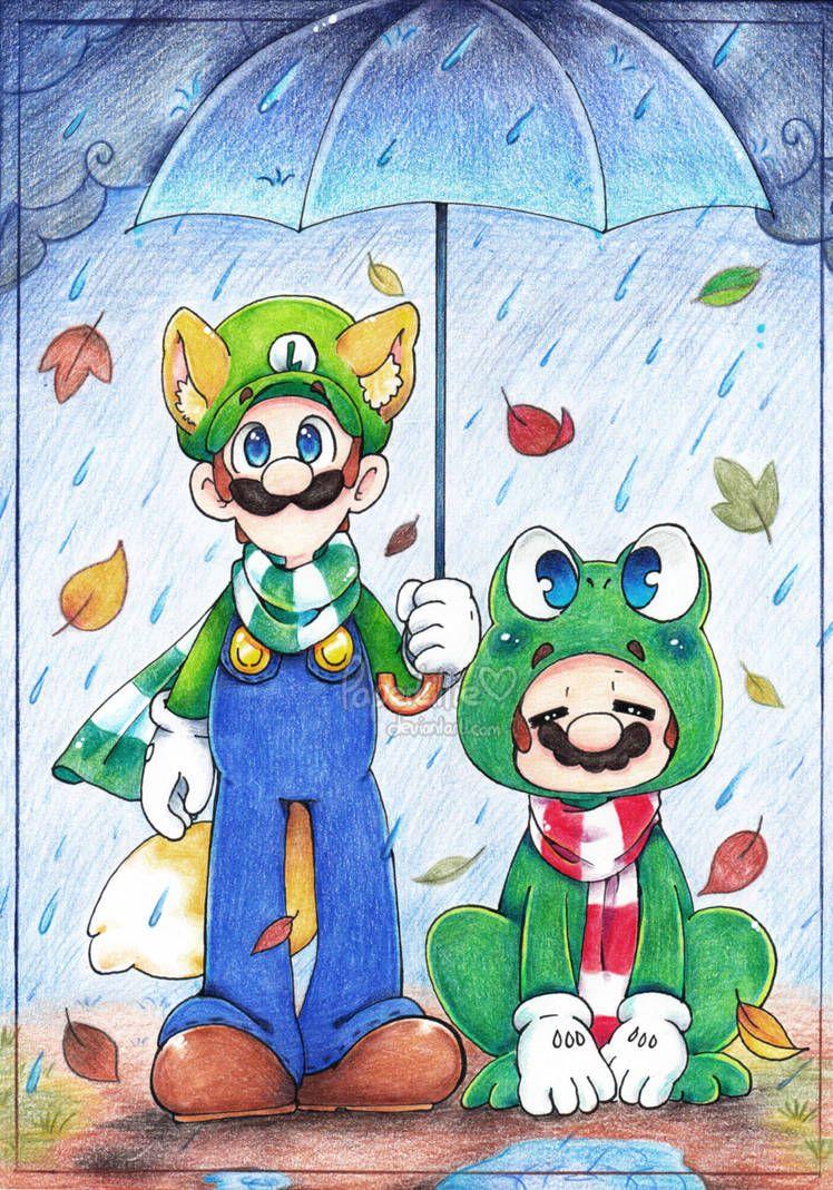 Rainy day by paperlillie