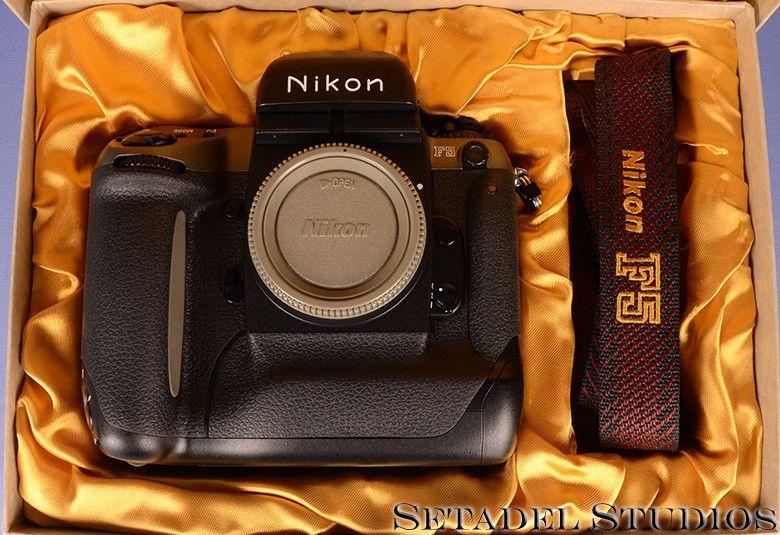 Nikon F5 Titanium 50yr Anniversary Camera Body NIB New