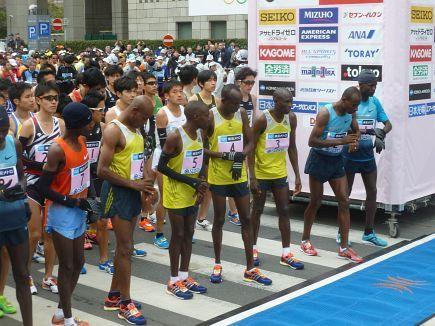 8. Tokio Marathon am 23. Februar 2014 - Bericht und Bilder von Jürgen Sinthofen: http://laufspass.com/laufberichte/2014/tokyo-marathon-2014.htm