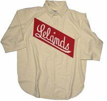 eacd358ff7f 1905 Leland Giants Authentic Throwback Home Baseball Jersey (Sizes 3XL -  5XL) from Ebbets Field Flannels