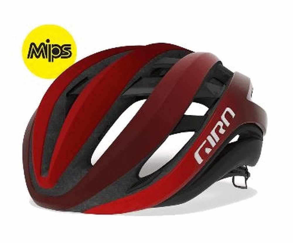 Giro Aether Mips Road Helmet Matt Red 51 55cm Impact Is