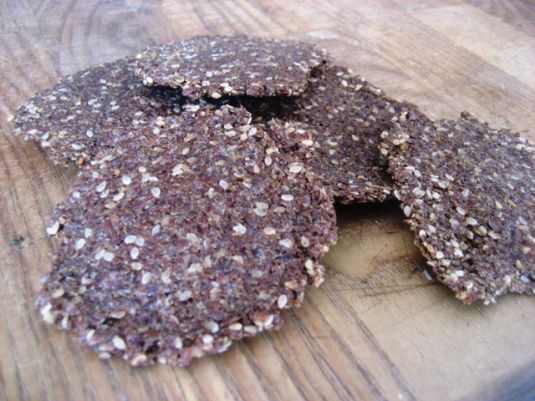 Flat Bread and Crackers, or, Why I Love Flax | Candida Diet