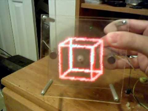 Most Awesome POV (Persistence of Vision) Display