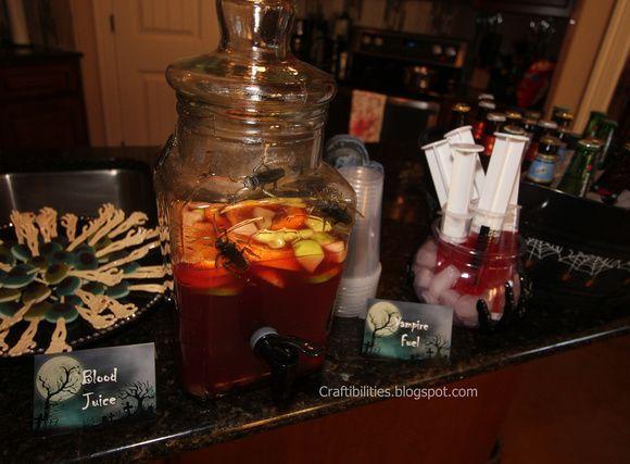 Halloween Party IDEAS ((frightful finger foods and devilish drinks - halloween party ideas decorations