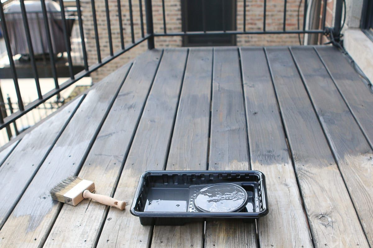 How To Clean And Stain A Deck In 2020