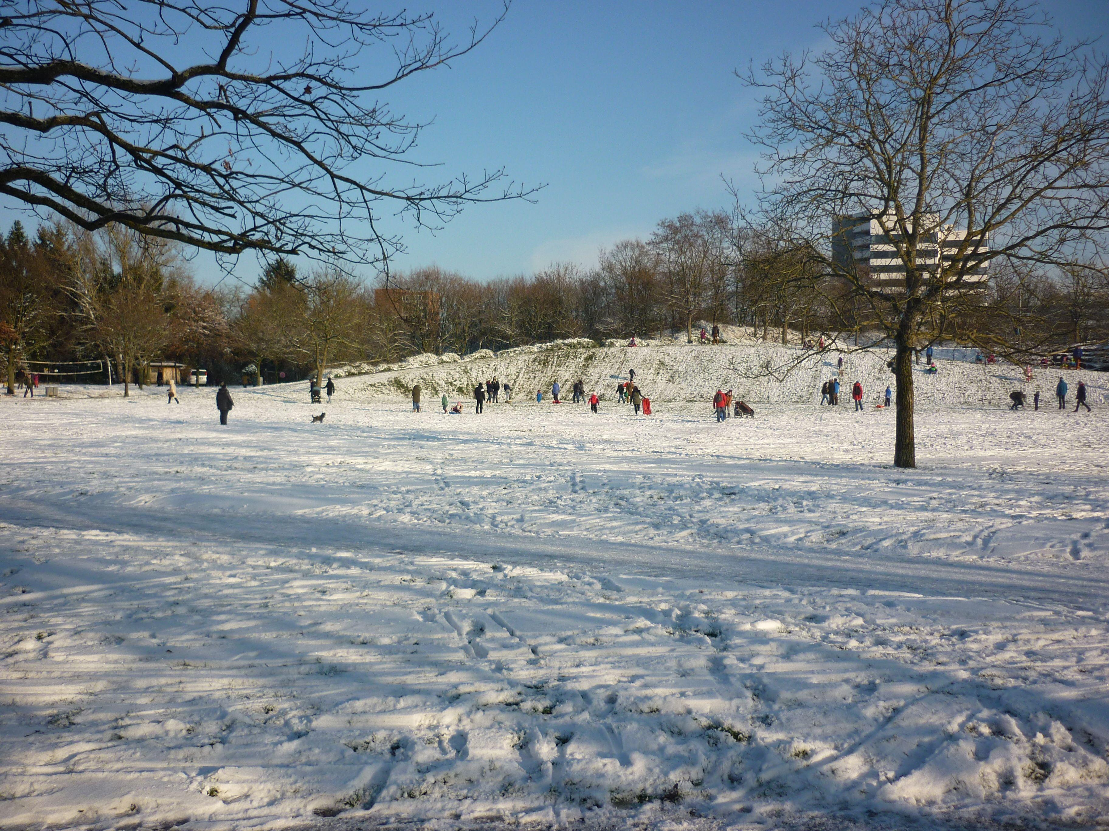 Karlsruhe Schnee