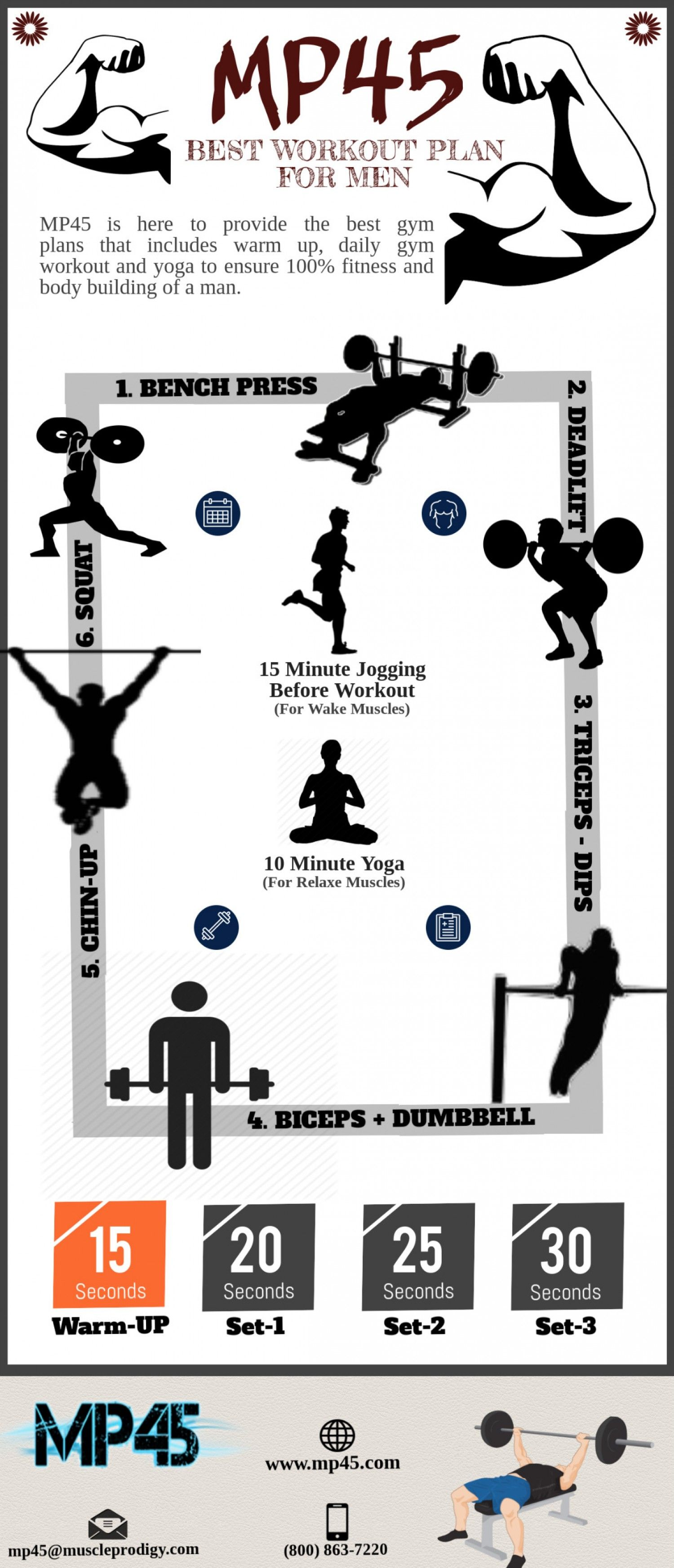 best workout plan for men at home infographic | boxing workouts at
