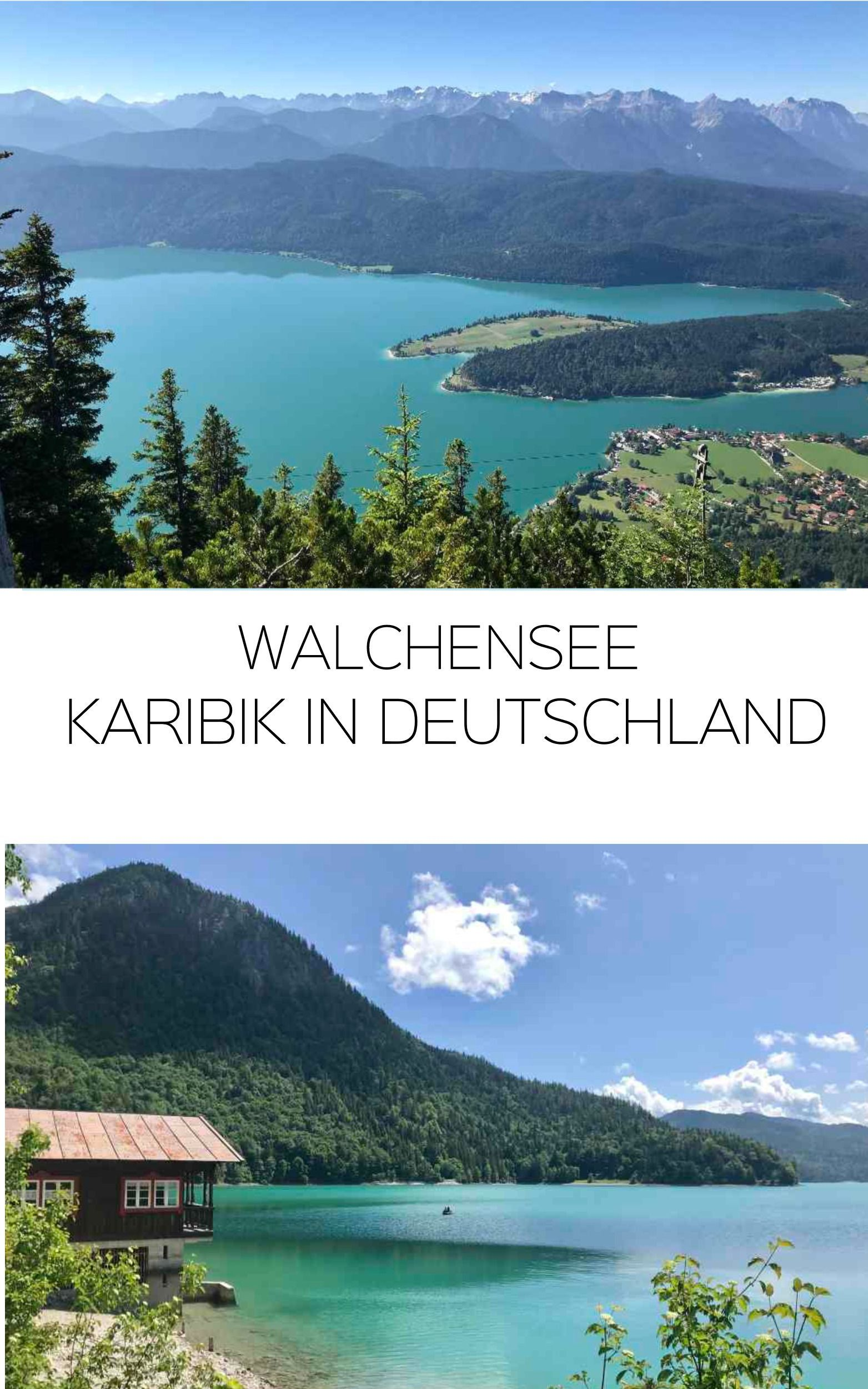 Photo of Walchensee #holidaytrip One of the most beautiful lakes in Bavaria! A lot of nature, with mountain …