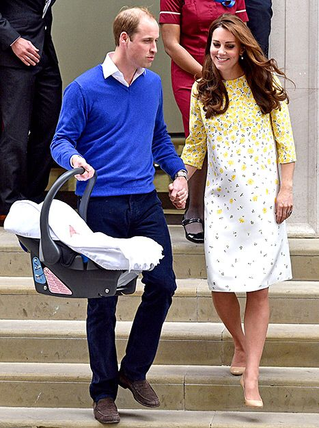 Did kate middleton royal baby slip girl