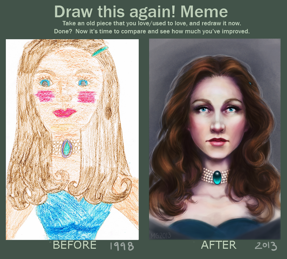 Draw This Again By Mariagulland Cool Art Pinterest Drawings