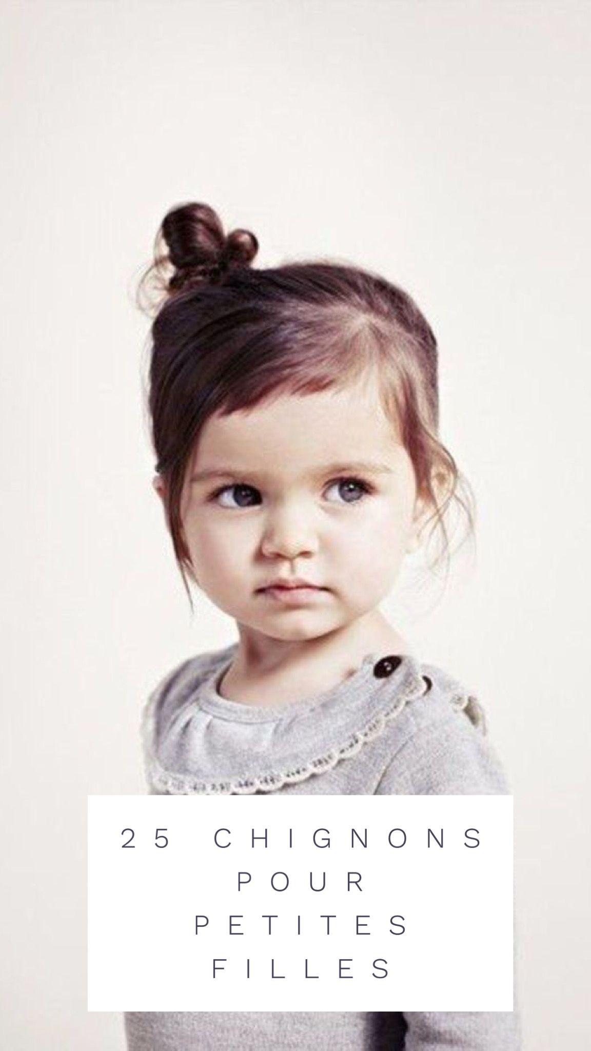 Coiffure 25 Chignons Pour Petite Filles Tres Tendance Chignon Petite Fille Coiffures Faciles Petite Fille Coiffure Mariage Enfant