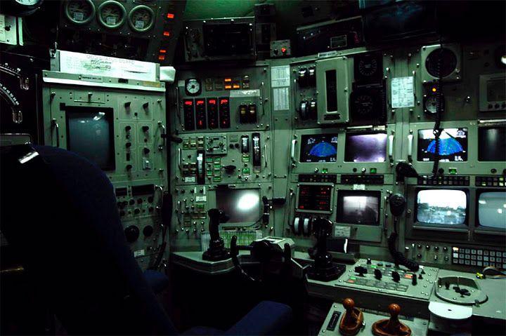 Submarine Control Room Nuclear Submarine Submarines Warship