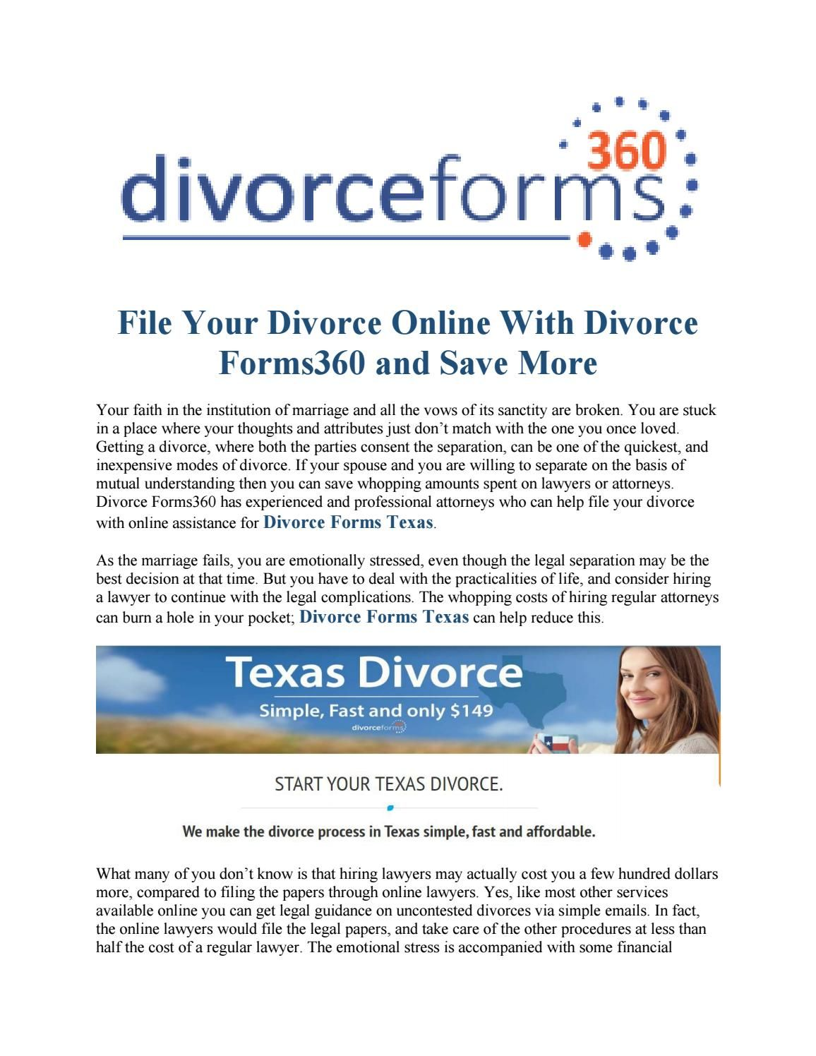 Happens divorce What papers filed after are