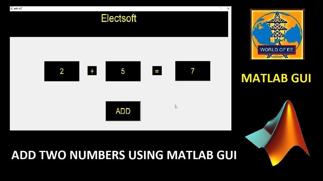 Addition Of Two Numbers Using Matlab Gui Urdu Hindi Calulator Using Ma Digital Image Processing Hindi Image Processing What is addition of two numbers