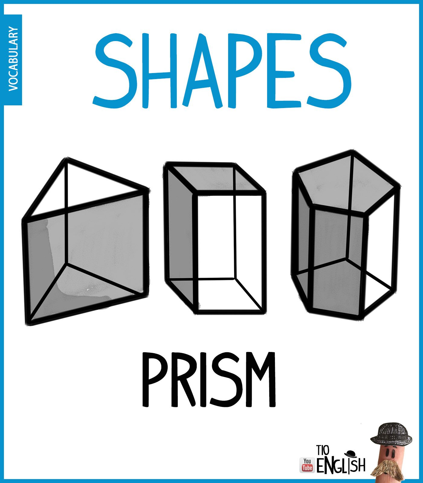 Prism Learn 3d Forms In English 3d Shapes English