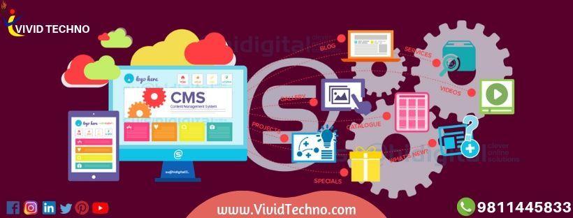 Cms web development services content management system