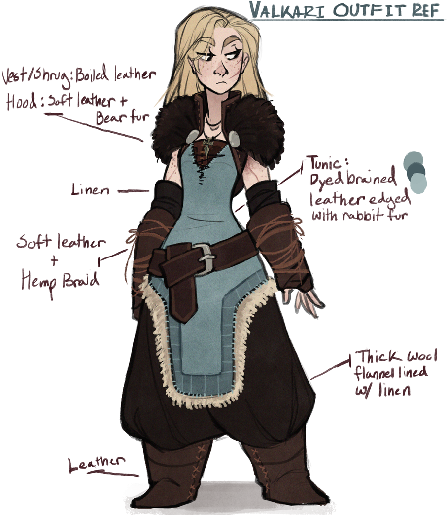 Skyrim Character Design Ideas : Valkeri a skyrim oc made by the orator on tumblr eff