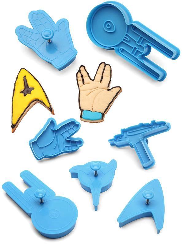 Star Trek Cookie Cutters     >>>>> On SALE  http://bit.ly/2g6nznm