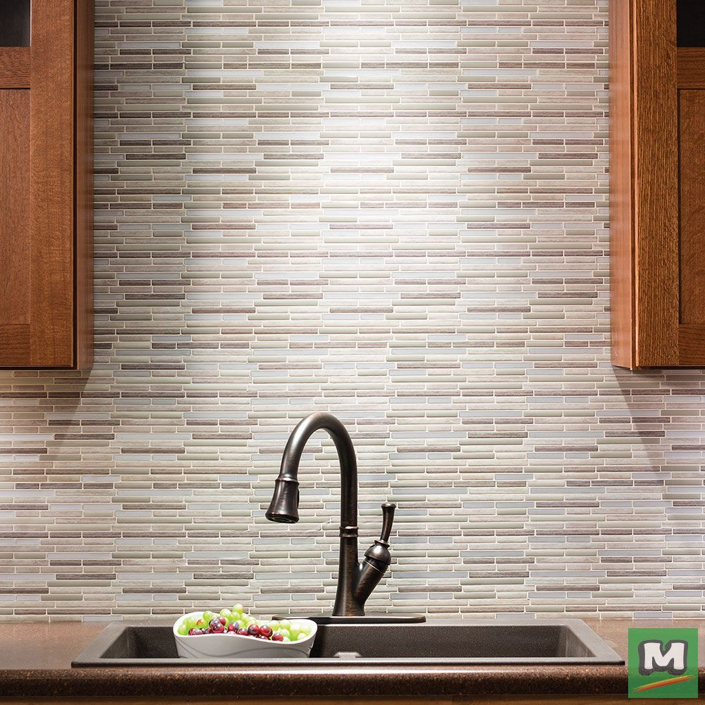 - Tack Tile Peel & Stick Vinyl Backsplash Tiles Are An Easy, DIY Way